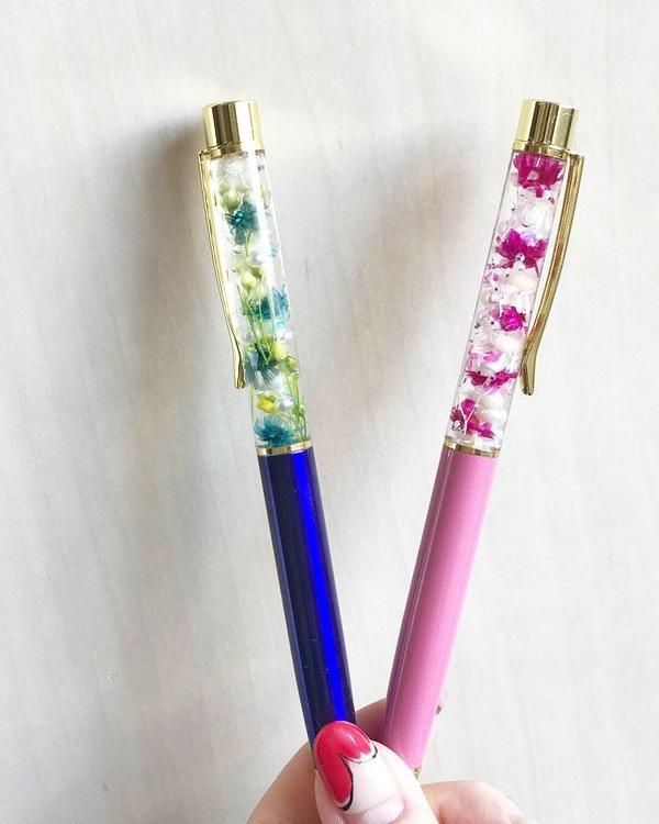 新作☆ハーバリウムボールペン!