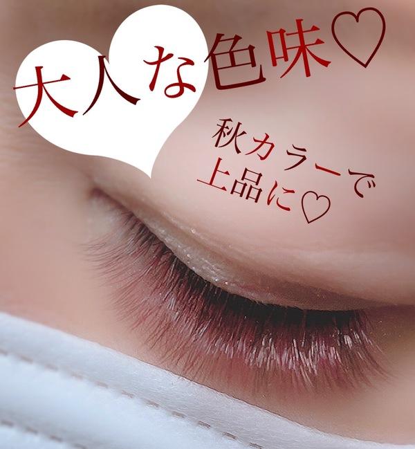 秋カラー❤︎deep rouge×brown